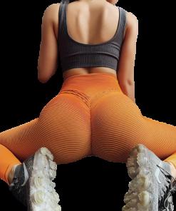 legging fitness blanc